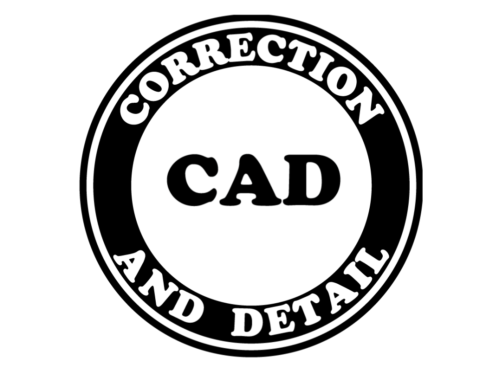 Correction and Detail Logo