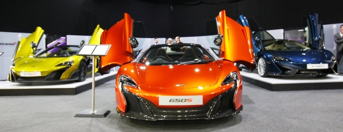 McLaren at the London Motorshow 2016