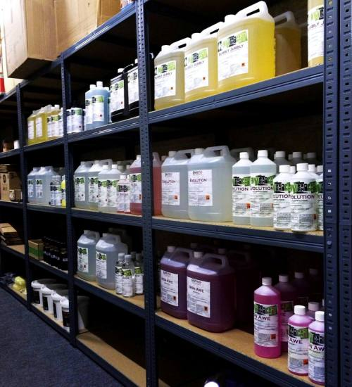 Envy Car Care Products are available in a range of sizes