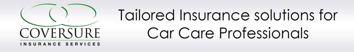 Coversure Car Valeting Insurance