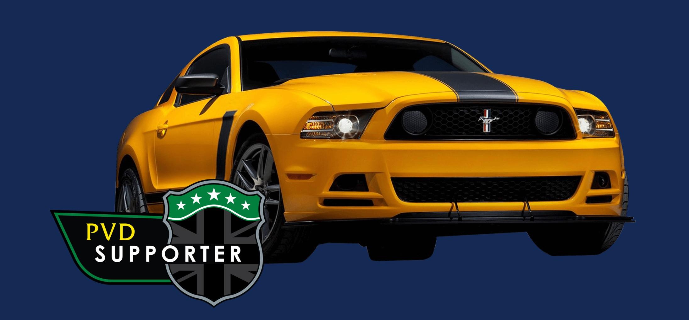 Mustang New Logo