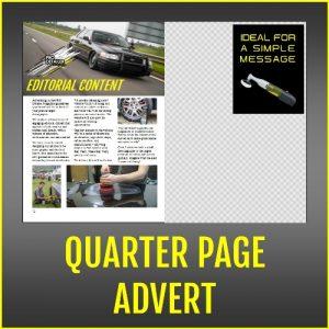 PRO Detailer Magazine Quarter Page